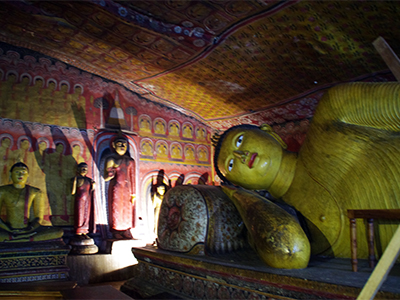 ダンブッラの黄金寺院