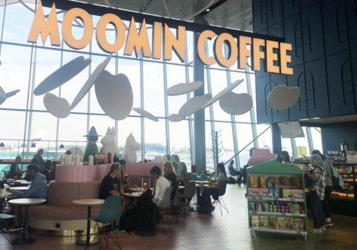 ヘルシンキ空港 ムーミンカフェ